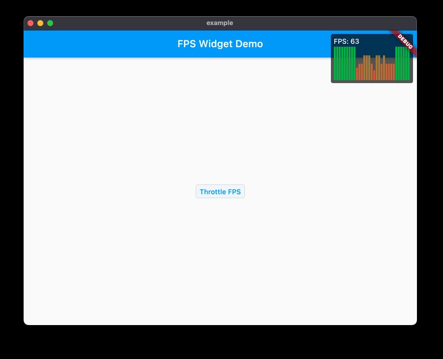 FPS Widget screenshot